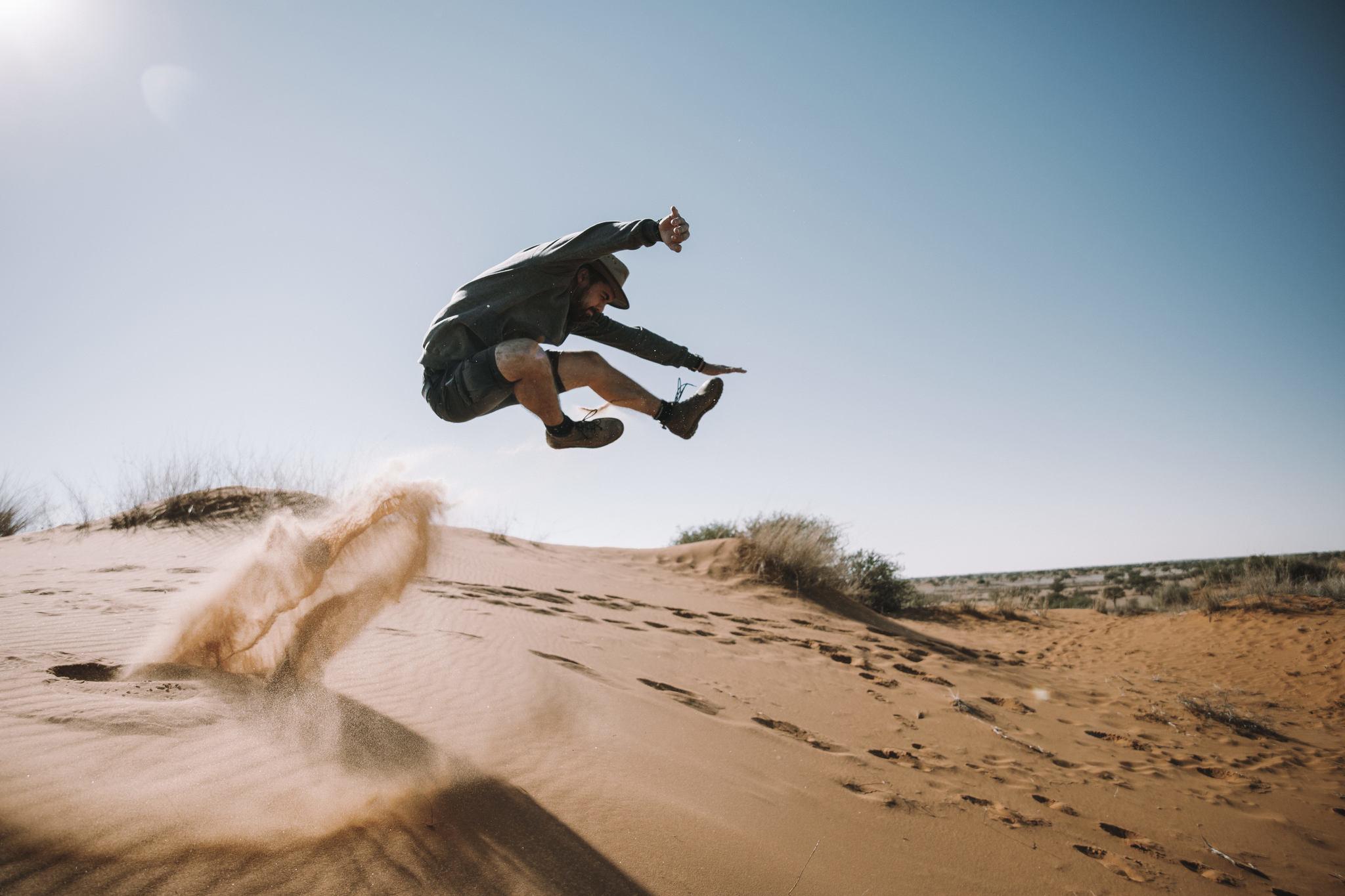 Kalahari Wanderung