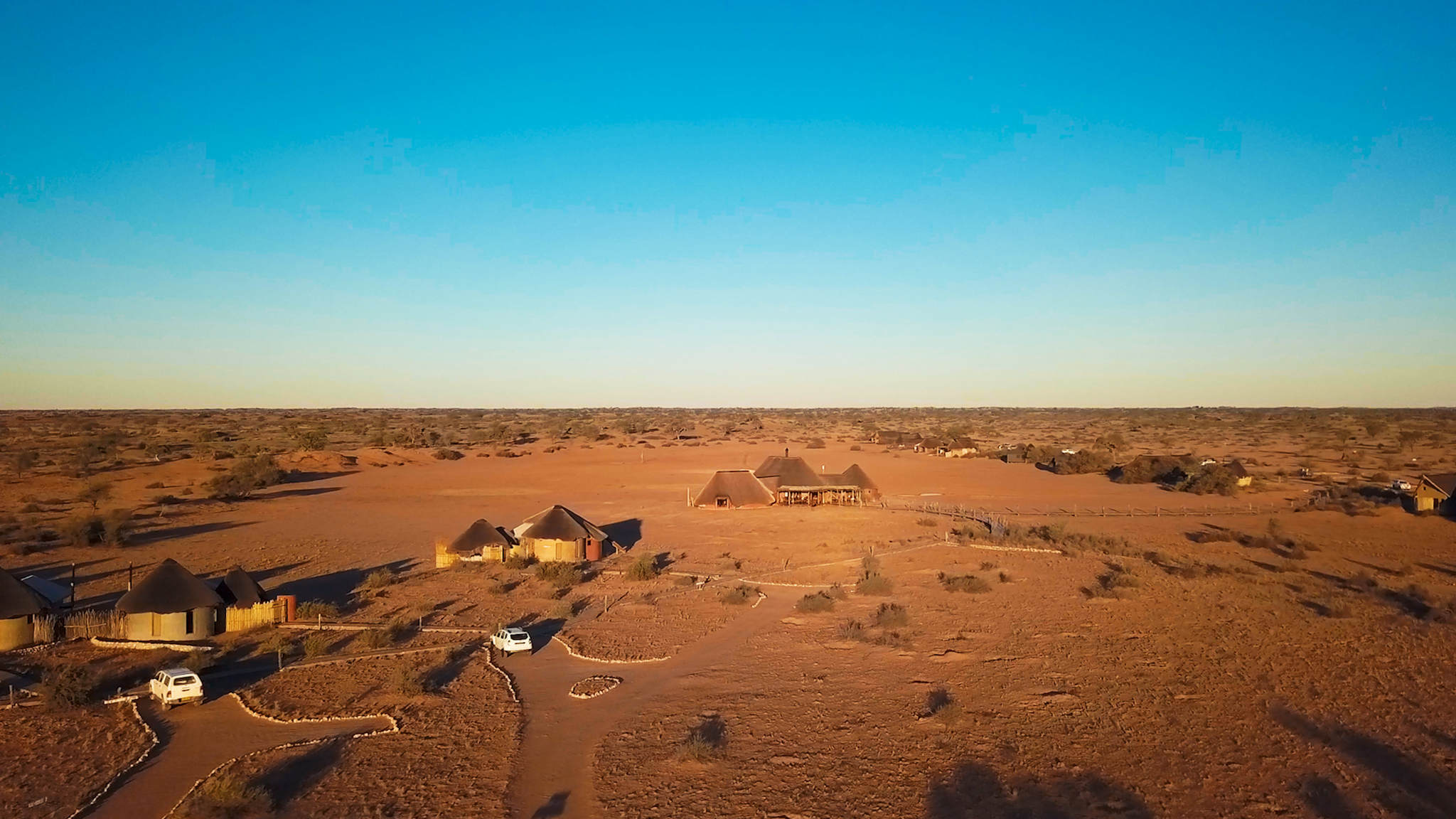 Red Dunes Lodge in der Kalahari
