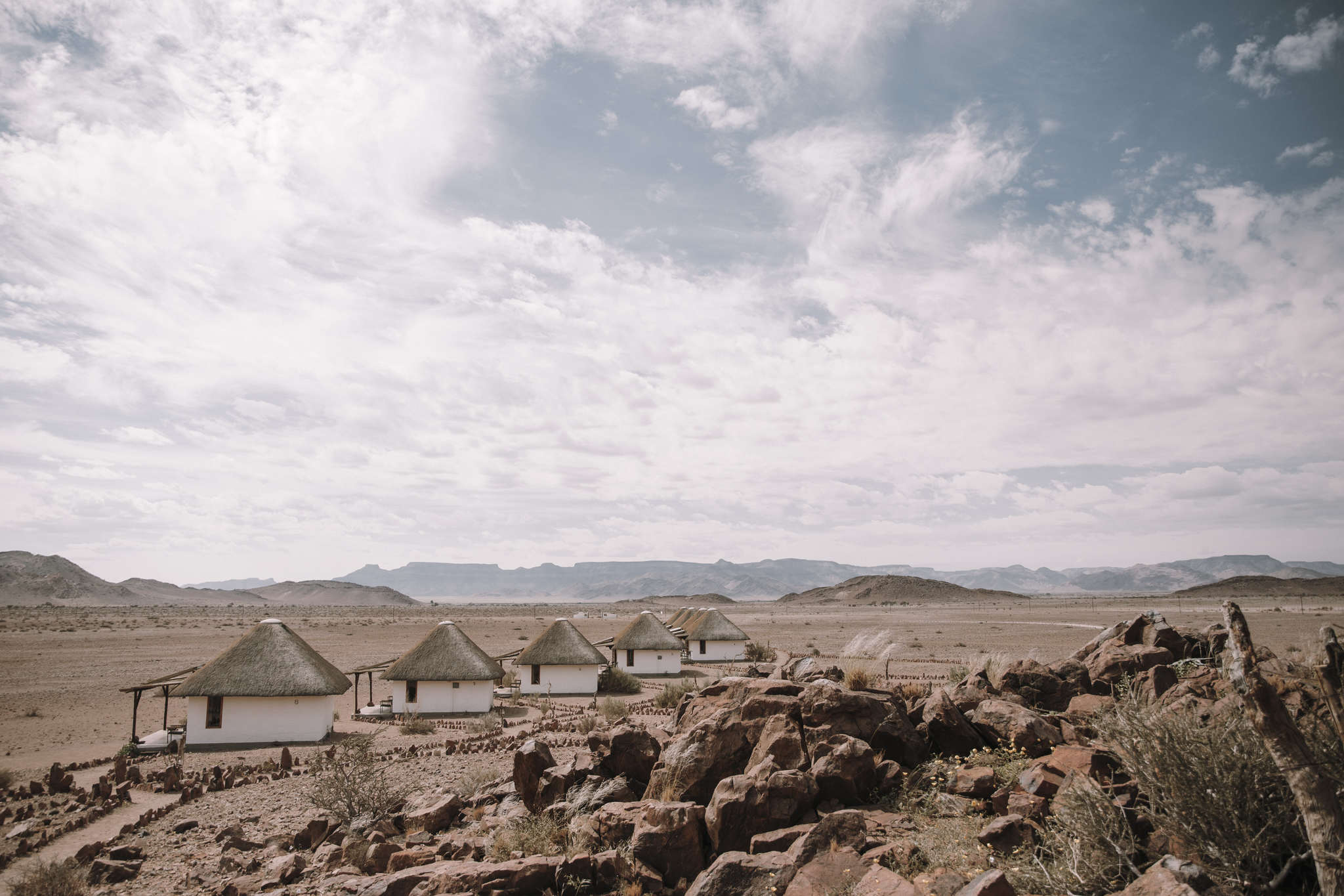 Desert Homestead Lodge Namib und Sossusvlei im Blick