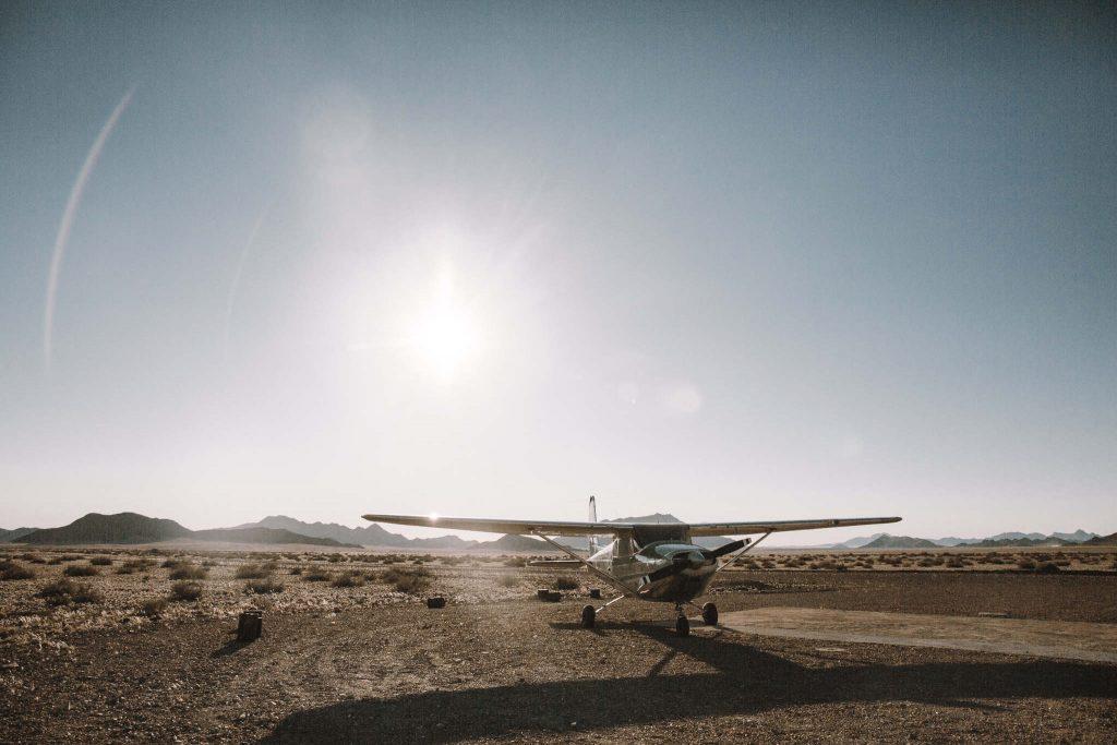 Flugreise Namibia