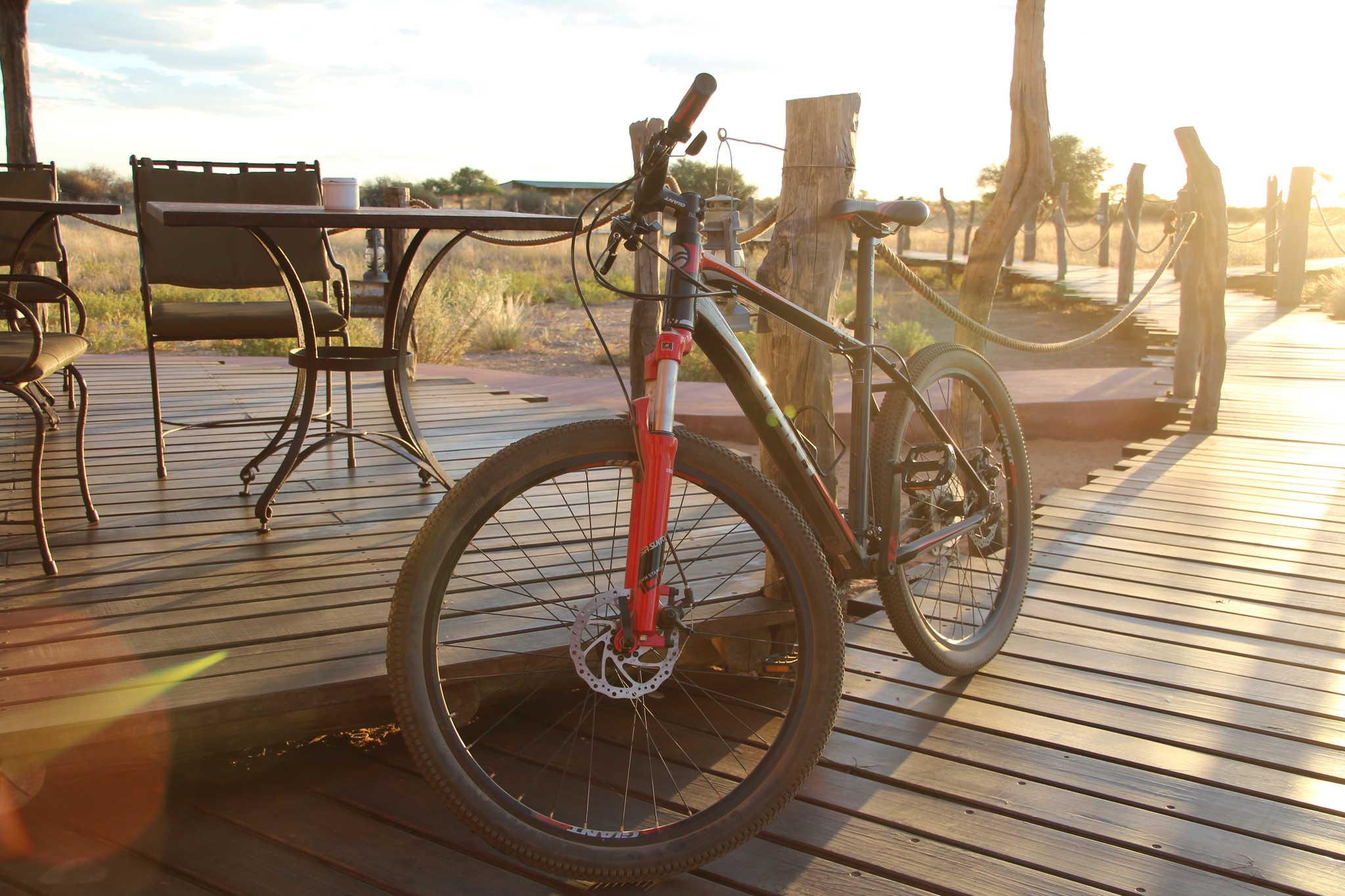 Ungeführte Radtouren Namibia