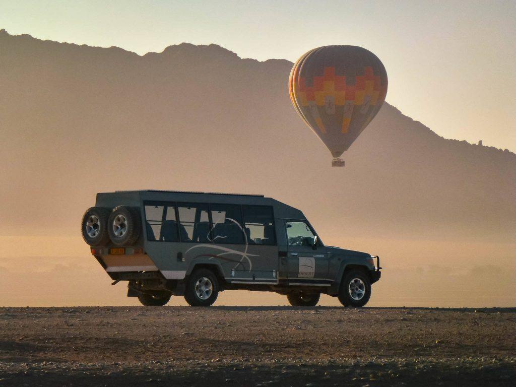 Ballonfahrten mit Namib Sky Balloon Safaris