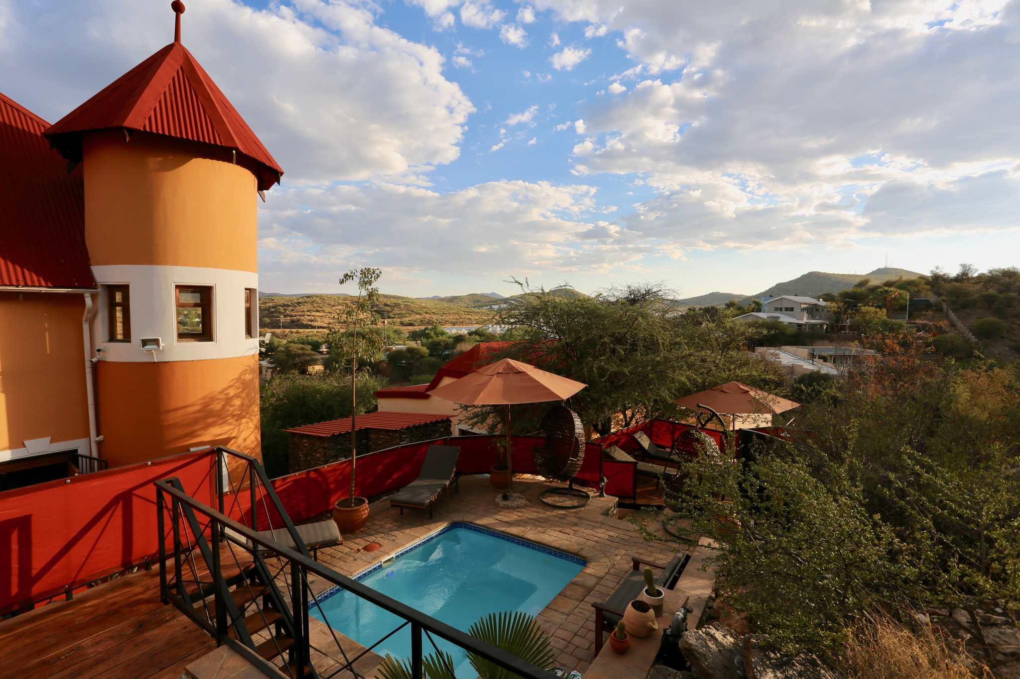 Hotel in der Hauptstadt Namibias