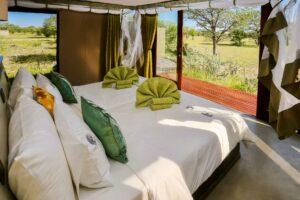 ein Zimmer der Etosha Oberland Lodge in Namibia