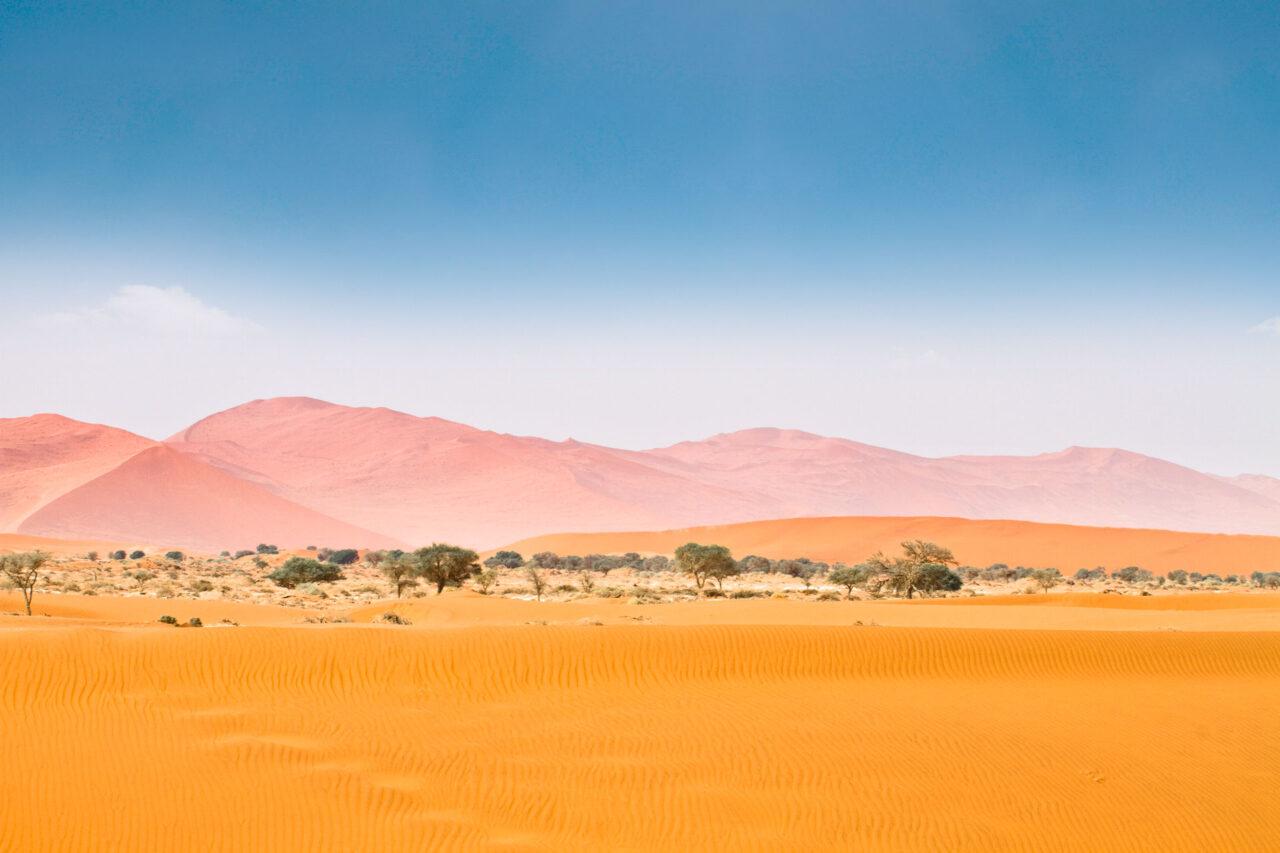Dünen im Sossusvlei im Namib-Naukluft-Nationalpark